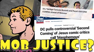 Dude. JESUS-MOCKING DC Comics Project CANCELLED: A Hell of a Dilemma for ComicsGate?