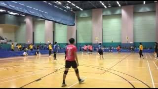2015-2016全港校際閃避球錦標賽男子中學組 培聖(藍色