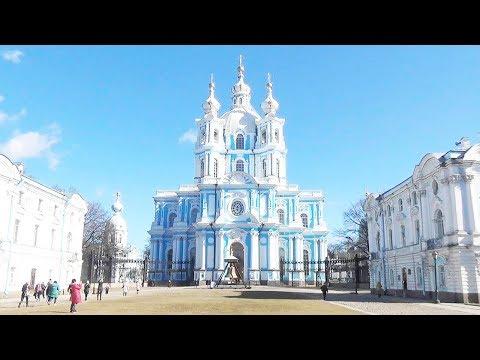 【Экскурсия】⛪Смольный собор・🏡Парадный квартал・🚇Чернышевская・⛵Фонтанка「Влог⚓Санкт-Петербург」