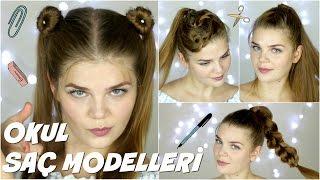 Okul İçin Saç Modelleri