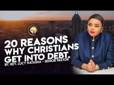 20 REASONS WHY CHRISTIANS GET INTO DEBT