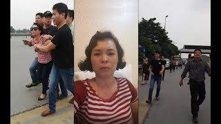 """Công an Việt Nam mặc thường phục bắt người phản đối """" BOT bẩn """" Thăng Long - Nội Bài"""