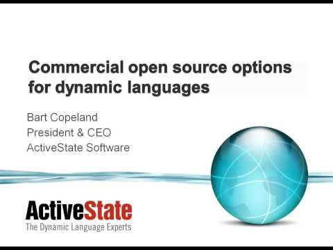 ActiveState Webinars:  Putting Open Source Dynamic Languages through the Licensing Test