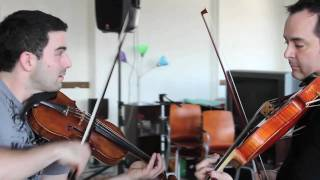 "The Dueling Fiddlers: AC/DC ""Back in Black"" and ""Thunderstruck""  Mashup [OFFICIAL]"