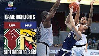 UP vs. NU - September 18, 2019  | Game Highlights | UAAP 82 MB