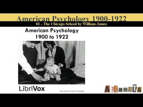 American Psychology, 1900-1922