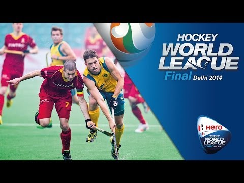 Netherlands vs Australia - Men's Hero Hockey World League Final India Semi-Finals 2 [17/1/2014]