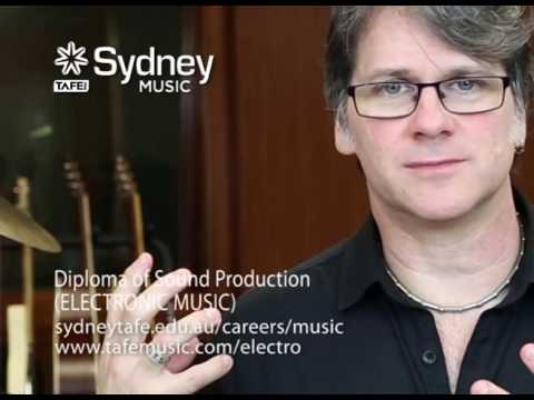What is in the ELECTRONIC MUSIC Diploma of Sound Production