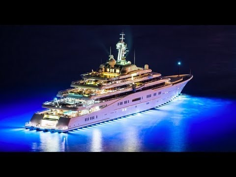 "$600,000,000 SUPER MEGAYACHT ""DILBAR"" VVIP EXCLUSIVE TOUR"