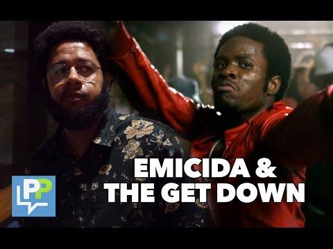 """Emicida visita """"The Get Down"""""""