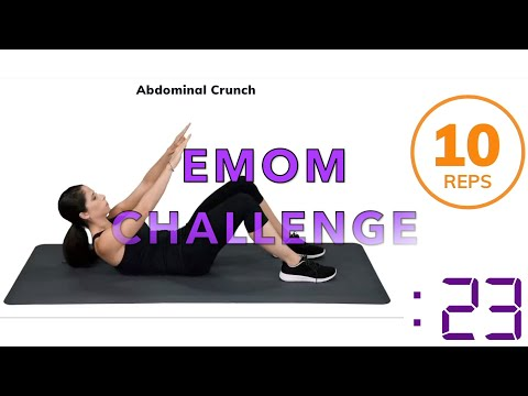 Quick bodyweight only EMOM workout!