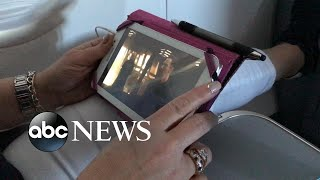 Mobile phone battery sparks fire mid-flight
