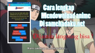 Download Video LANGSUNG BISA! | DOWNLOAD ANIME DI SAMEHADAKU.NET MP3 3GP MP4