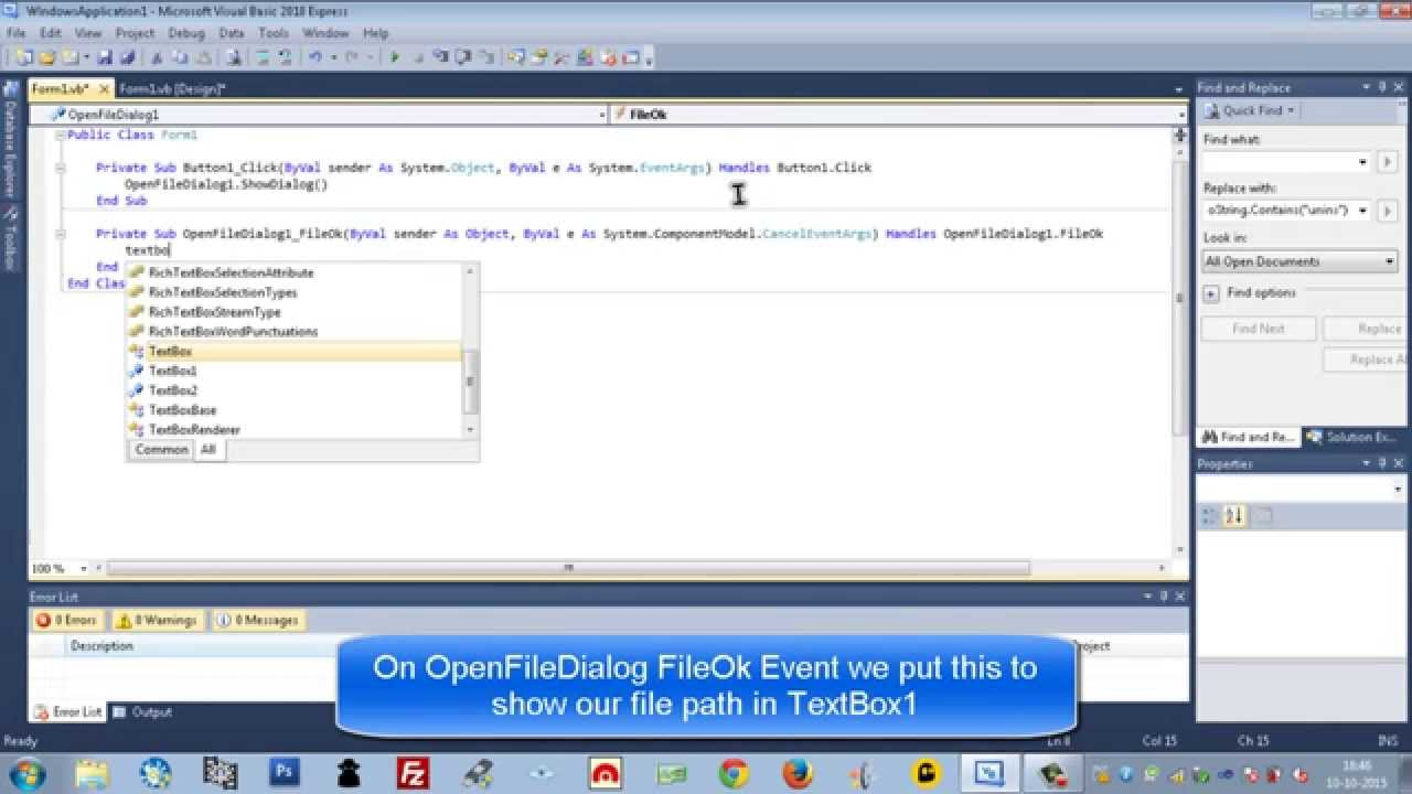 Strings (Count Text File & TextBox Lines) in Visual Basic 2010