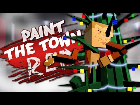 WORST CHRISTMAS EVER - Best User Made Levels - Paint the Town Red