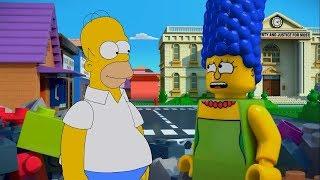 LOS SIMPSON   EL SUEÑO EN BLOQUES DE LEGO HD #1