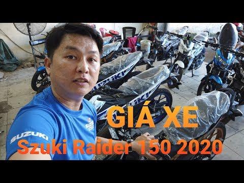 XE TV   Giá Xe Suzuki Raider 150 2020 TĂNG CHÓNG MẶT - Soi Chi Tiết Xe Tại đại Lý