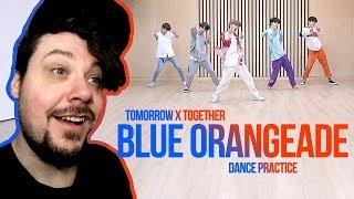 Gambar cover Mikey Reacts to TXT (투모로우바이투게더) 'Blue Orangeade' Dance Practice