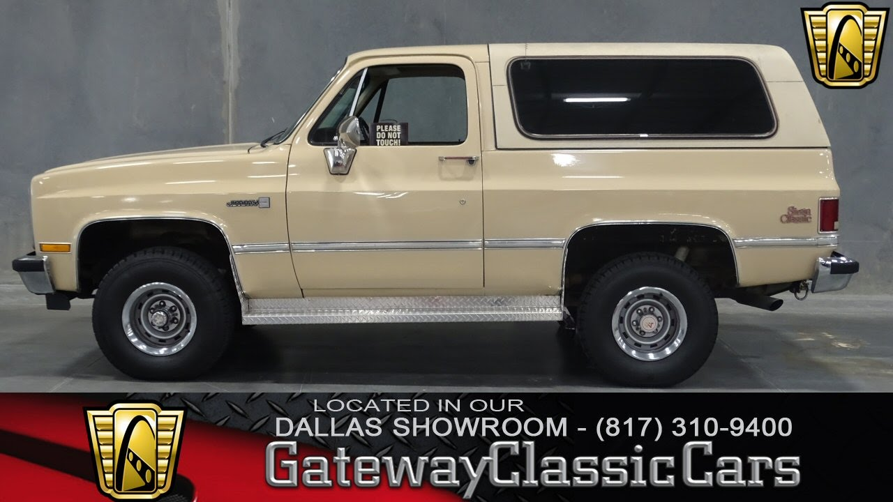 1985 Gmc Jimmy Stock 86 Gateway Classic Cars Of Dallas Youtube