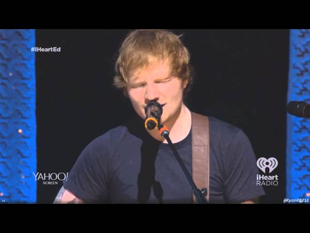 Ed Sheeran- Give Me Love [From the Album Release Party]