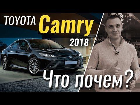 ЧтоПочем Toyota Camry 2018. Базовая комплектация