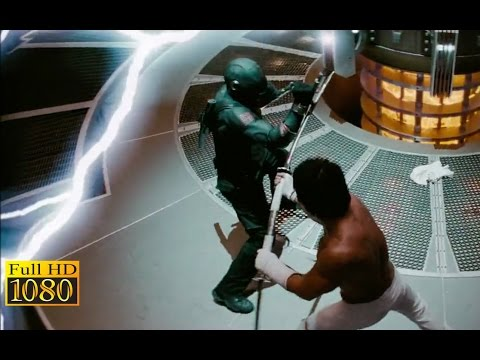 GI Joe Rise of Cobra 2009  Snake Eyes vs Storm Shadow 1080p FULL HD