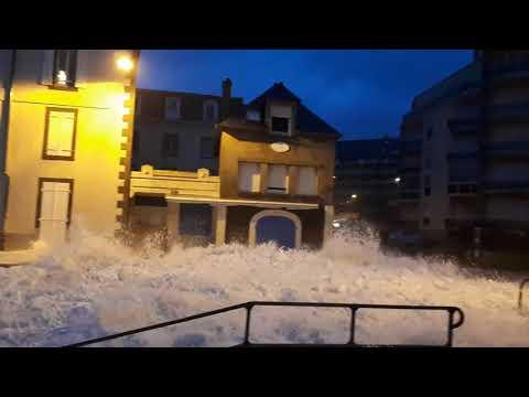 Grandes marées Saint Malo jeudi 4 janvier 2018 matin