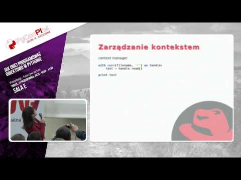 Image from Jak (nie) programować obiektowo w Pythonie