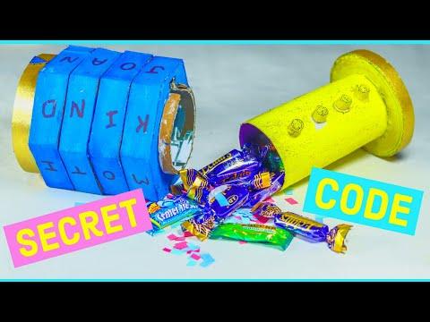 diy secret box easy with lock. // diy secret box easy