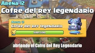 Clash Royale | Opening the Legendary King's Chest