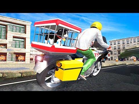 Bike Racing Games - City Bike Pet Animal Transport - Gameplay Android free games