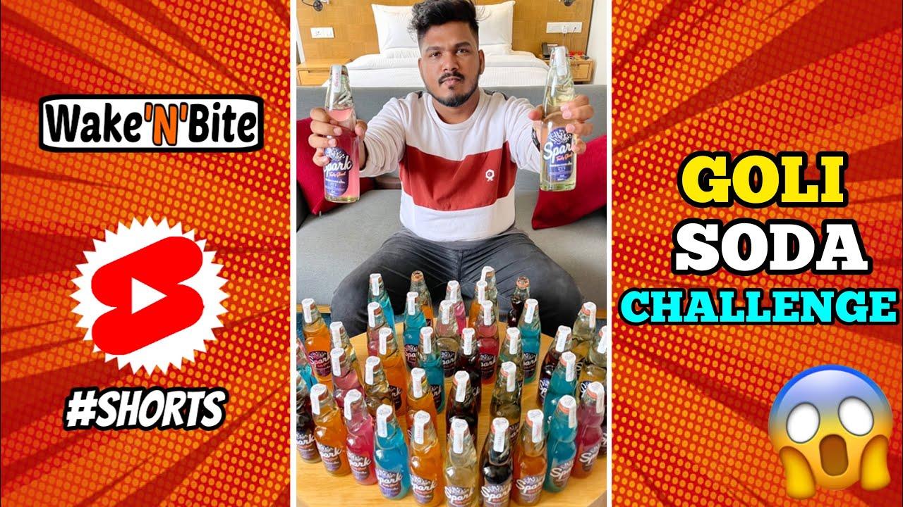 GOLI SODA DRINKING CHALLENGE | GOTI SODA COMPETITION | Wake'N'Bite #Shorts
