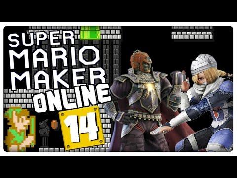 SUPER MARIO MAKER ONLINE Part 14: Zelda II - The Adventure of Link ist zurück!