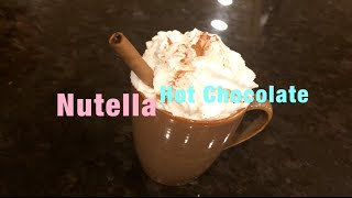 Holly Jolly Holiday Guide-nutella Hot Choclate