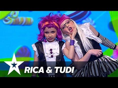 Rica og Tudi | Danmark Har Talent 2017 | Liveshow 2