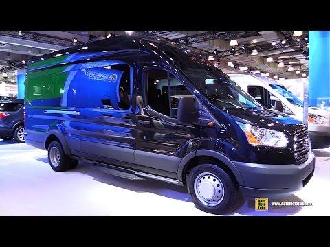 2015 Ford Transit 350 HD XLT Passenger Van - Exterior and Interior Walkaround - 2015 NY Auto Show