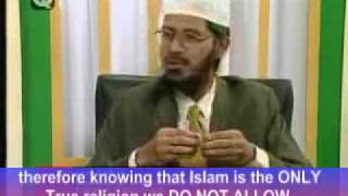 Non-Muslims does not have equal humanrights in Islamic State. By Dr. Zakir Naik