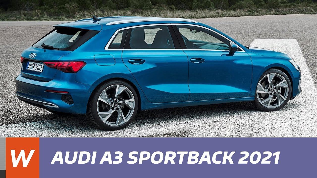 AUDI A3 Sportback 2021 - les premières infos - YouTube