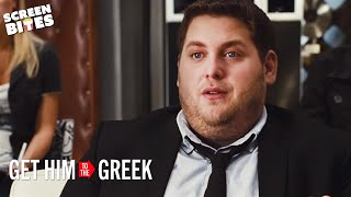 Get Him To The Greek - P. Diddy Jonah Hill meeting OFFICIAL HD VIDEO