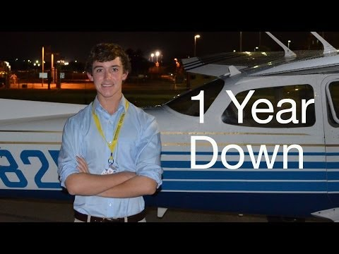 A Year in the Life of a Student Pilot