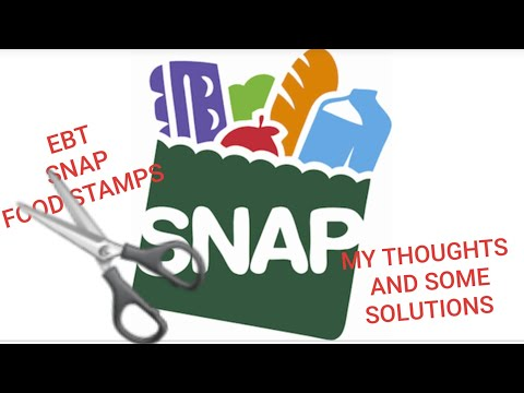 FOOD STAMPS/SNAP/EBT  BENEFITS CUTS ~2019~