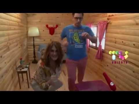 Marcela Green en America tv. canal 2 programa la cabaña del tio tom