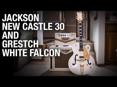 Jackson NewCastle 30 with Grestch White Falcon