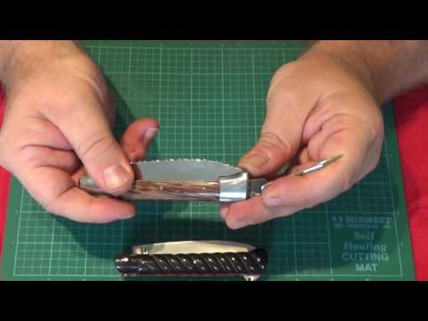 French Yssingeaux And Issoire French Folding Knives By Fontenille-Pataud
