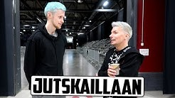 Bäkkärillä Antti Tuiskun kanssa ennen keikkaa!