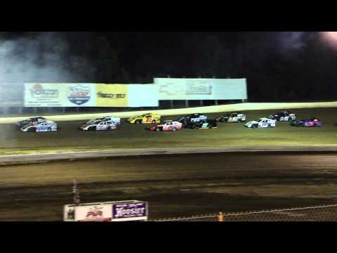 Modifides racing at Paducah Internation Speedway  8/1/2013