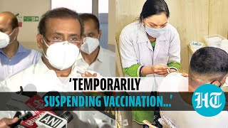'Maharashtra govt temporarily suspends Covid vaccination for 18-44 group': Tope