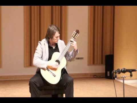 """Kyle Canjar performs """"Gente Humilde"""" by Anibal Augusto Sardinha aka Goroto"""