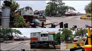 UNIK! Perlintasan KA Jl.Ambengan Surabaya Gubeng