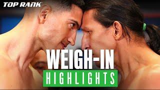 Weigh-In Highlights: #NavarreteDeVaca